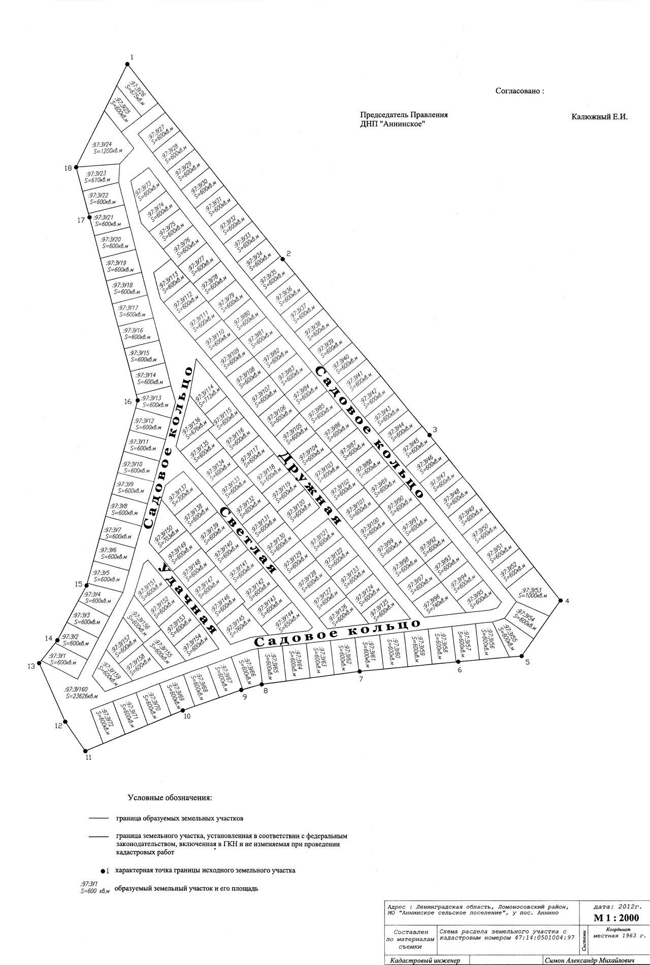 Схема продаж земельных участков фото 605
